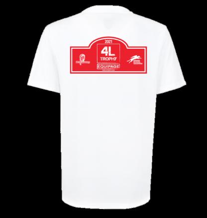 Tshirt dos - Raid 4L Trophy